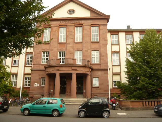 Ansicht Amtsgericht Gießen