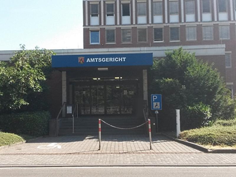 Ansicht Amtsgericht Idar-Oberstein