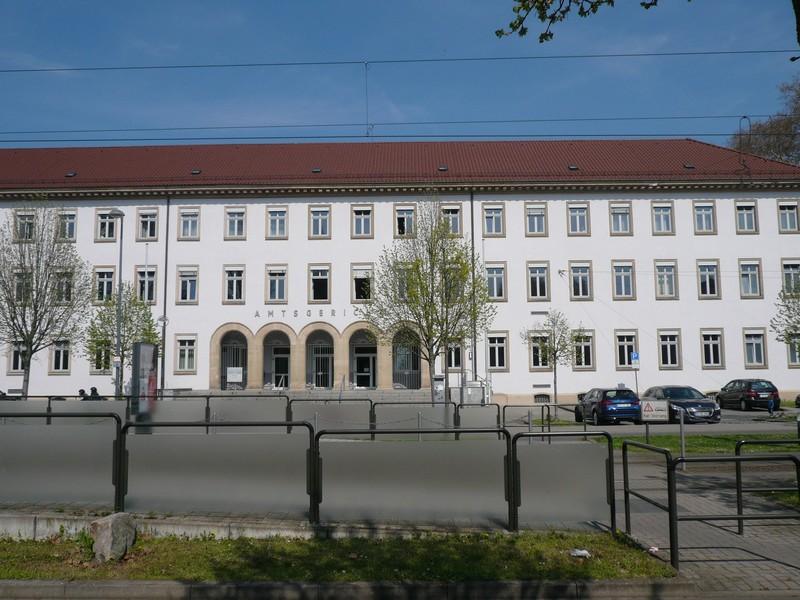 Ansicht Amtsgericht Ludwigshafen
