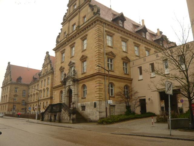 Ansicht Amtsgericht Regensburg