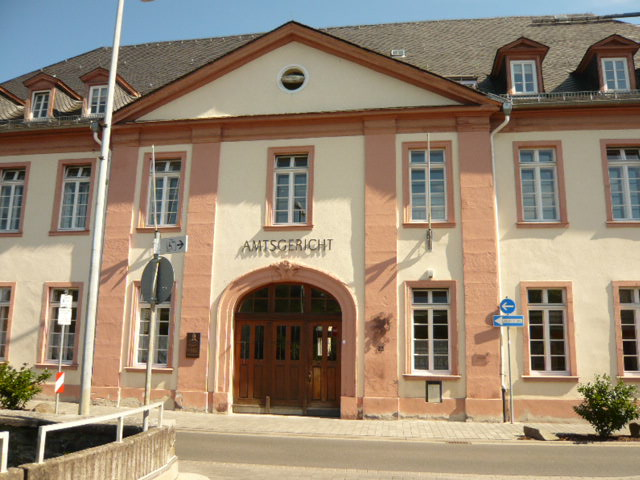 Ansicht Amtsgericht Weilburg