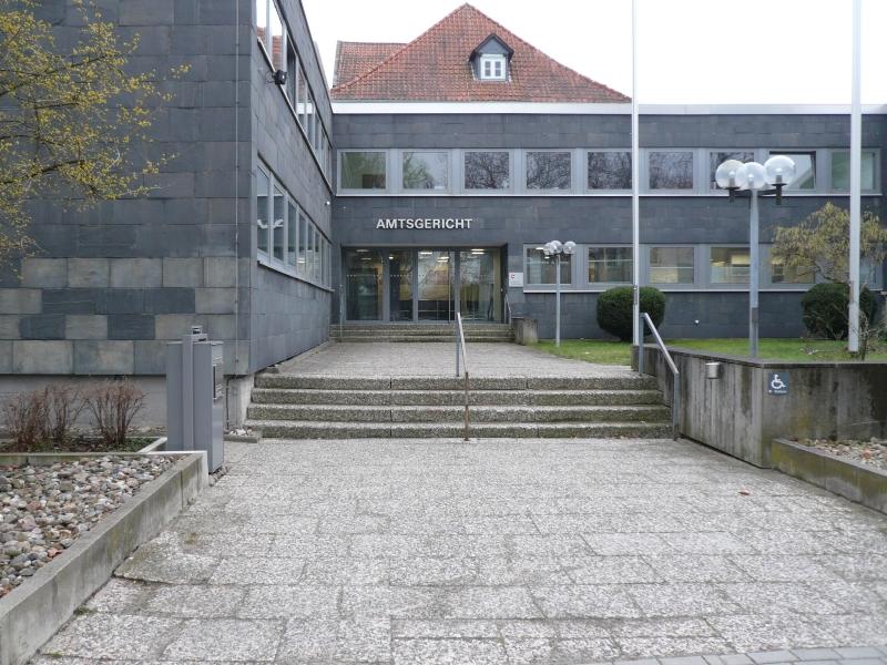 Ansicht Amtsgericht Wolfenbüttel
