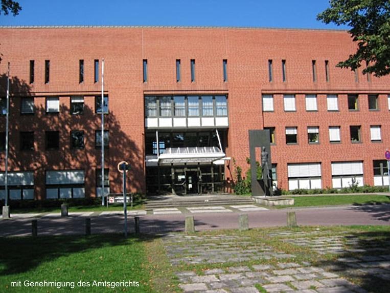 Ansicht Amtsgericht Wolfsburg