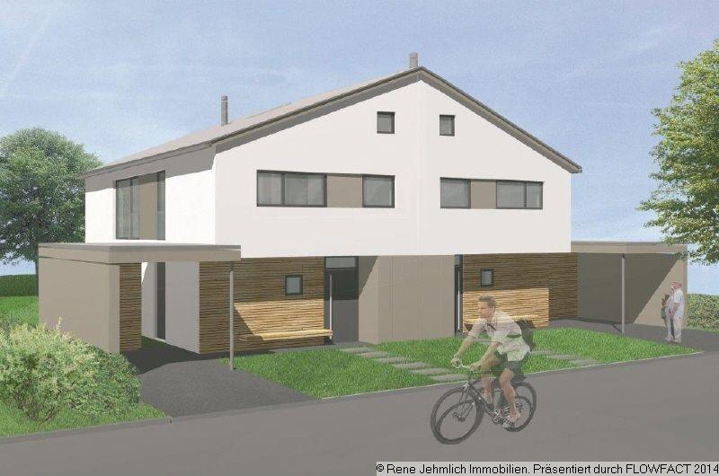 Neue Doppelhaushälfte Mit 129qm In Glösa Zur Miete Kamin