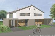 Titelbild NEUE Doppelhaushälfte mit 129qm in Glösa zur Miete +++ KAMIN +++ Ausblick