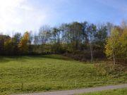 zwei Landwirtschaftsflächen
