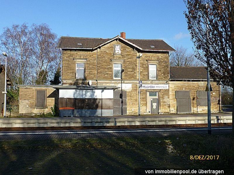 Zwangsversteigerung ehemaliges Bahnhofsgebäude