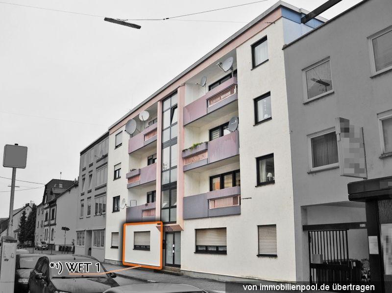 Zwangsversteigerung 1-Zimmerwohnung und Garage