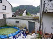 Gartenansicht Garage