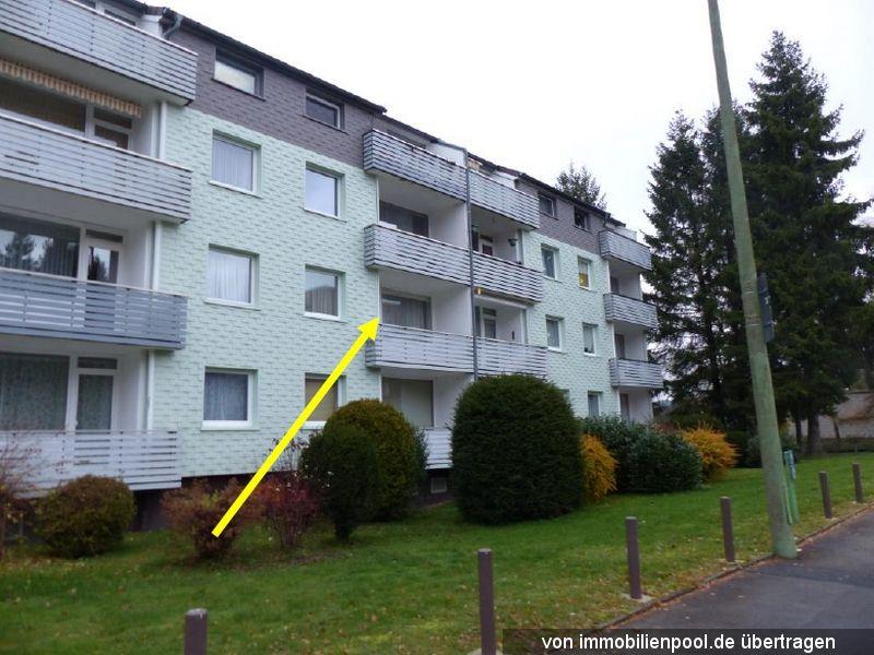 Zwangsversteigerung 2-Zimmerwohnung mit Stellplatz und Garage