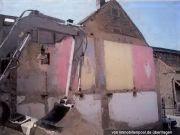 Grundstück mit abgerissenem Gebäude